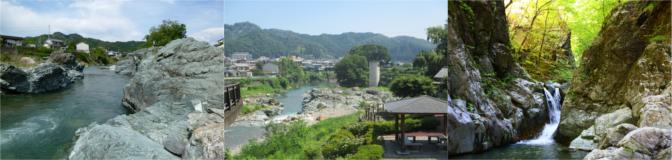 下仁田町内の公園の風景