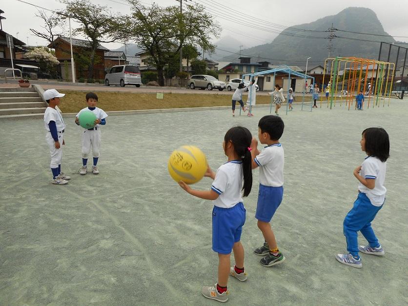 放課後子ども教室ーボール遊びー