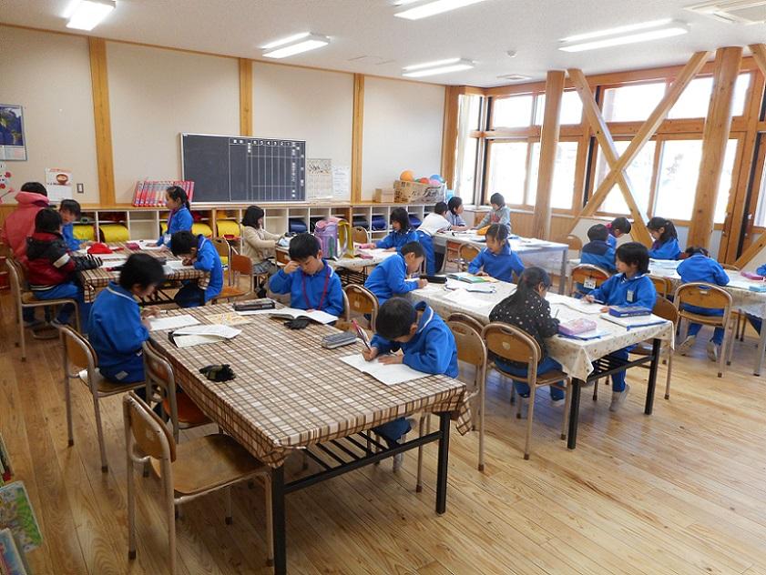 放課後子ども教室学習風景