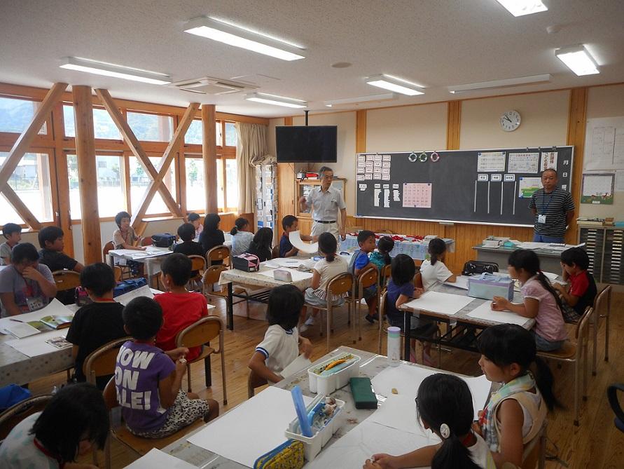 サマースクール 絵画教室