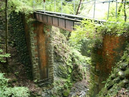 上野鉄道鬼ケ沢橋梁