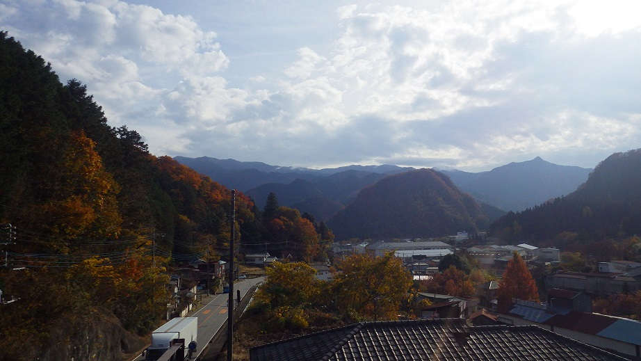 歴史観東側眺望(11月)