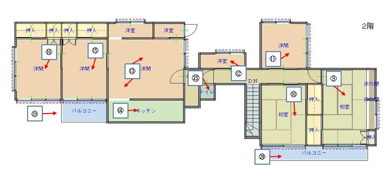 地域創生課(空き家バンク):59madori2.jpgの画像