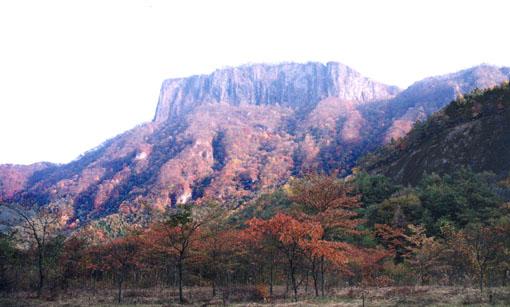 秋の荒船山