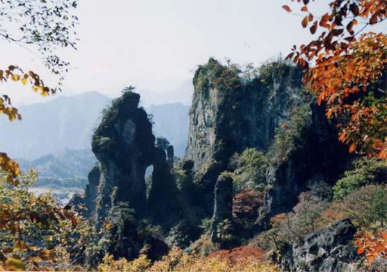秋の妙義山1